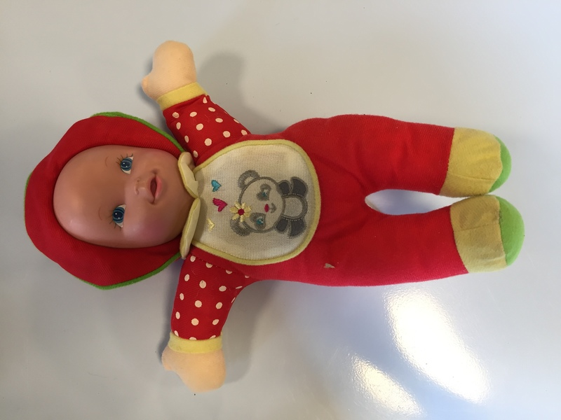 D1806: Kingsgate Red Soft Baby Doll
