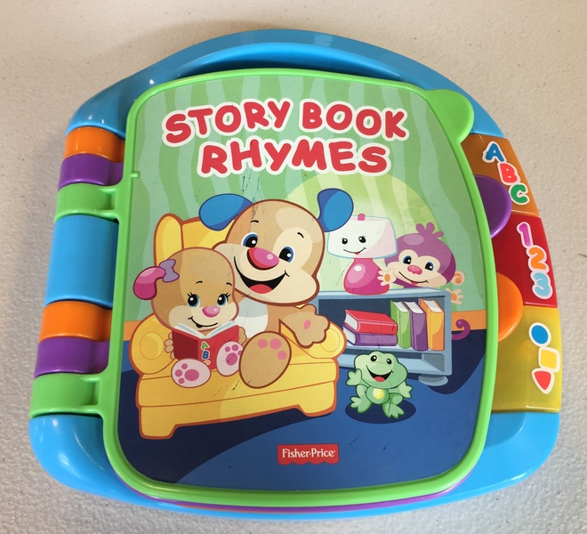 B1806: Fisher-Price Laugh & Learn Storybook Rhymes
