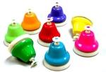 M1802: Rainbow Music Desk Bells