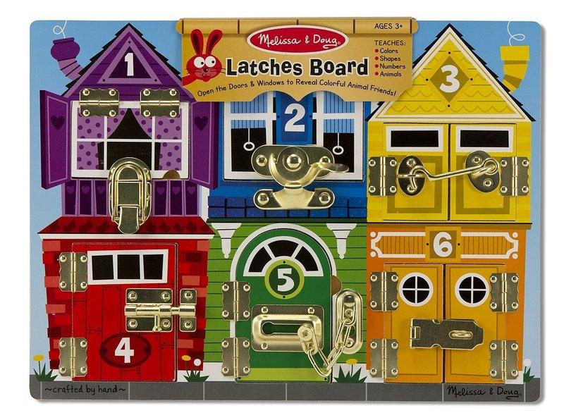 E1802: Melissa & Doug Latches Board