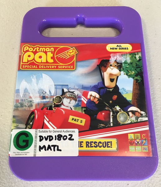 DVD1802: Postman Pat Special Delivery Service To The Rescue
