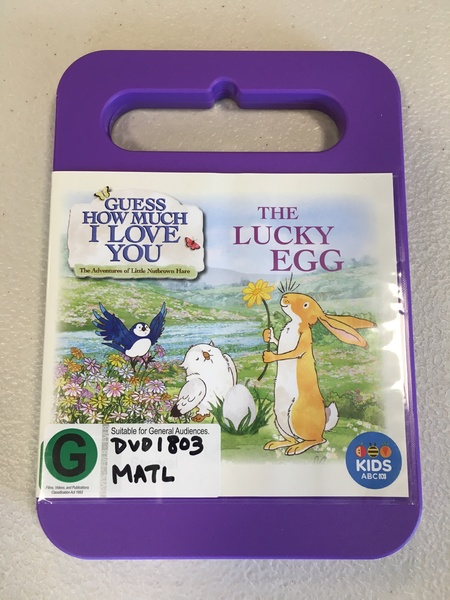 DVD1803: Guess How Much I Love You The Lucky Egg