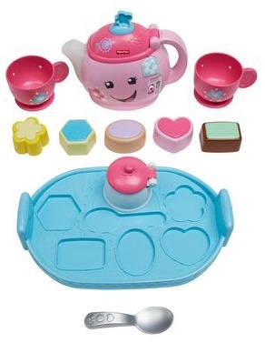 D1811: Fisher-Price Laugh & Learn Sweet Manners Tea Set