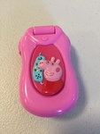 E1810: Peppa Pig's Pink Flip & Learn Phone