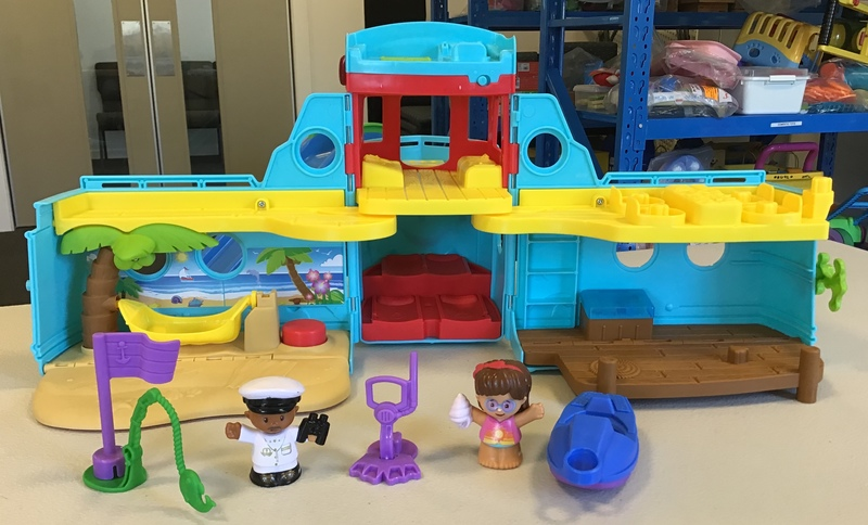 L1805: Fisher-Price Little People Travel Together Friend Ship