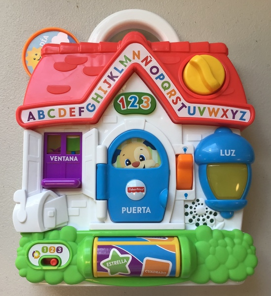 B1819: Fisher-Price Laugh & Learn Puppy's Busy Activity Home (Spanish Version)