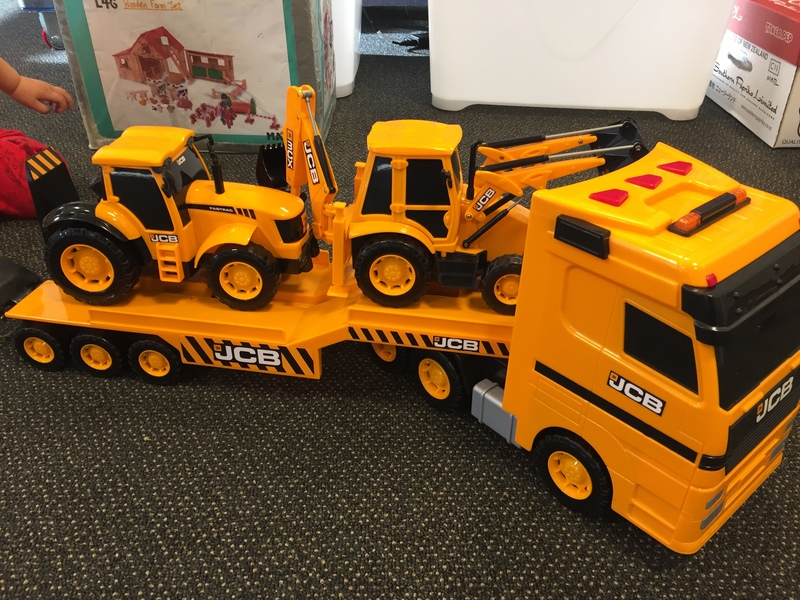 T1901: JCB Heavy Load Transporter