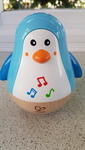 B1905: Hape Penguin Musical Wobbler