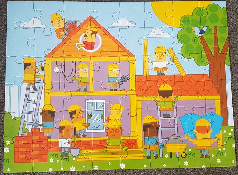 P1901: Little Builder Puzzle