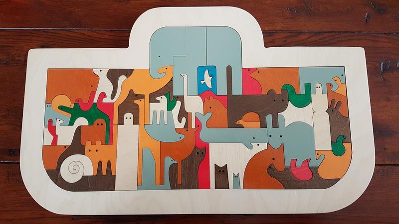 P1904: Hape Ark Puzzle