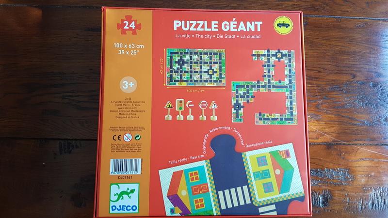 P1905: DJECO The City 24 Puzzle