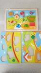 P1909: Hape Sunny Valley Puzzle 3 in 1