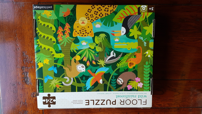 P1916: Wild Rainforest Puzzle