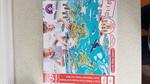P1921: Hape 2-in-1 World Tour Puzzle & Game