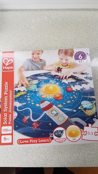 P1922: Hape Solar System Puzzle