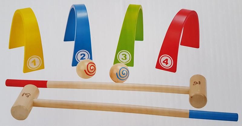 G1914: Hape Color Croquet