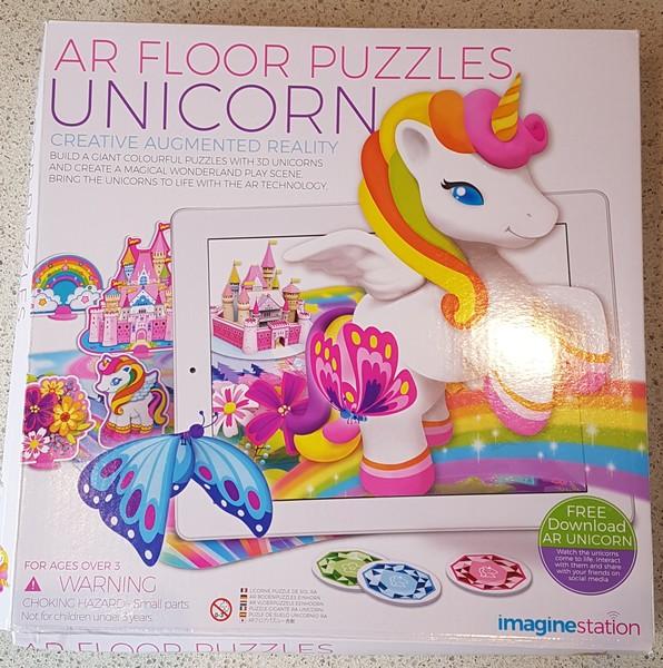 P1925: AR Floor Puzzles Unicorn