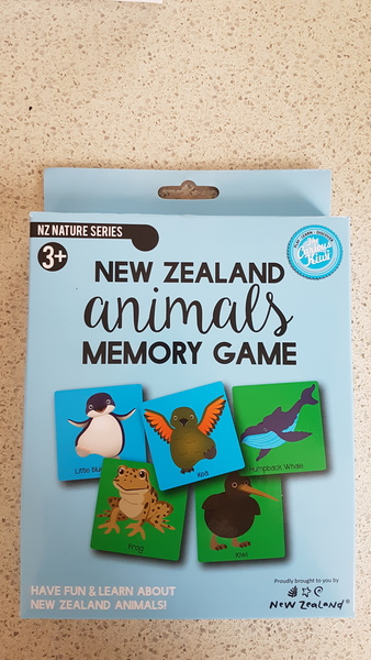 G1917: NZ Animals Memory Game