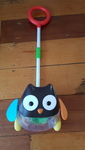 B1913: Skip Hop Rolling Owl Push Toy