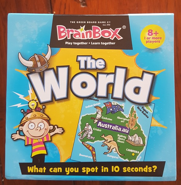 G1923: Brain Box The World