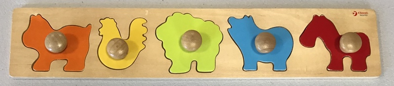 P1933: Classic World Wooden Animal Puzzle