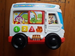 B1919: Fisher Price Laugh & Learn Around Town Bus