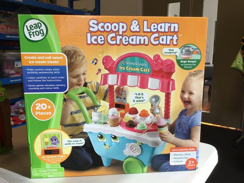 D1918: Leapfrog Scoop & Learn Ice Cream Cart
