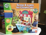 D1918: Leap Frog Scoop & Learn Ice Cream Cart