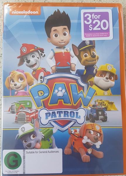 DVD1914: Paw Patrol