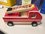 T1912: Wooden Fire Truck