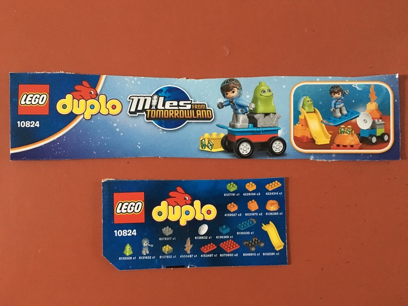 C1701: Duplo Miles from Tomorrowland
