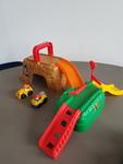 L2004: Little People Wheelies Play n Go Construction Site