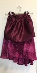 D110: 2 pce dancer top and skirt (size 4)