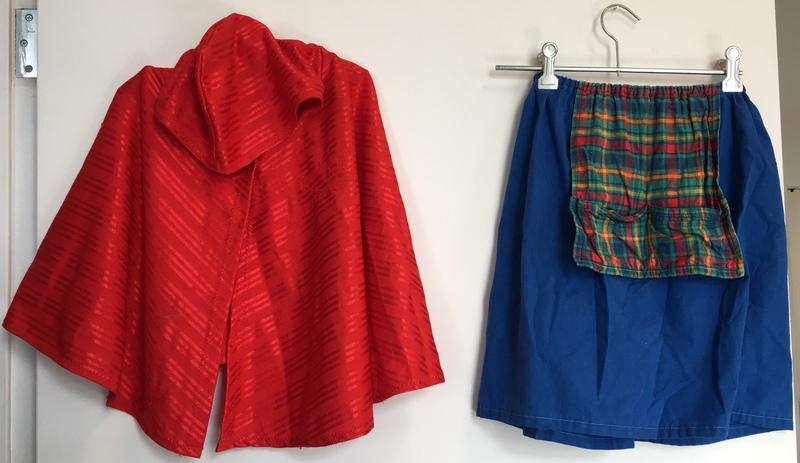 D1016: Little Red Riding Hood Dress up