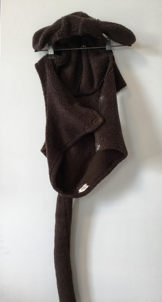 D1017: Brown Dog - dress up