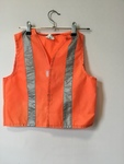 D1032: Workman's Vest - orange