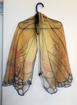 D1101: Monarch butterfly wings - dress op