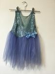 D1127: Blue Fairy Dress - dress up