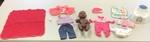 D1608: Polynesian Baby girl doll