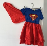 D1711: Supergirl Dress Age 2-4yrs