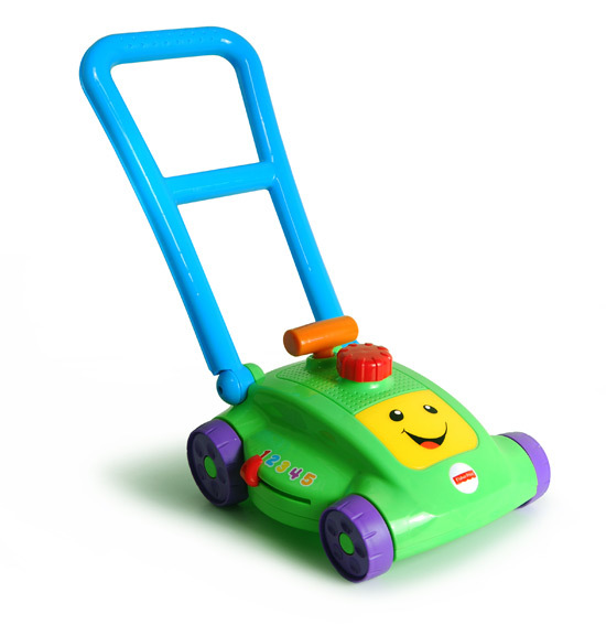 D1714: Fisher Price Lawn Mower