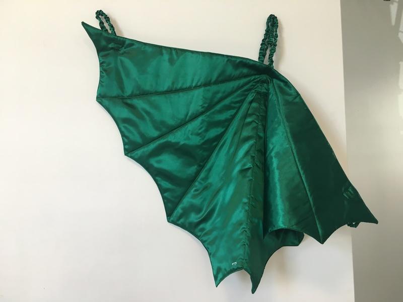 D1723: Dragon Wings (Green)