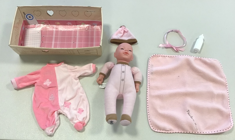 D1724: Kingstate The Doll Crafter Newborn Love Wash 'n Dry Doll Ages: 18 months +