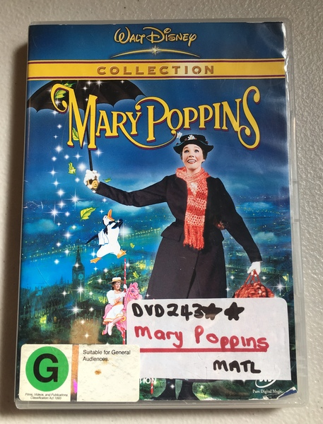 DVD243: Mary Poppins