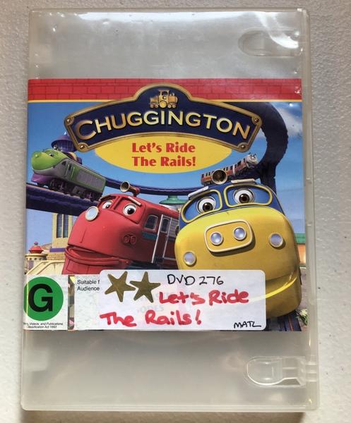 DVD276: Chuggington - Let's Ride the Rails