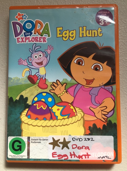 DVD282: Dora - Egg Hunt