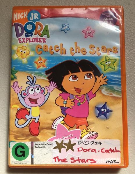 DVD284: Dora - Catch the Stars