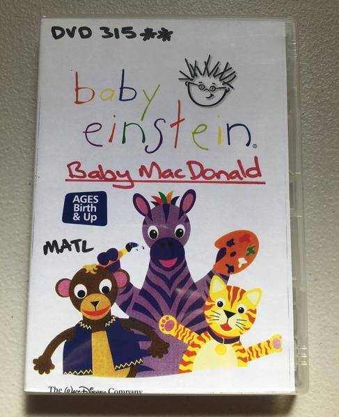 DVD315: Baby Einstein - Baby MacDonald