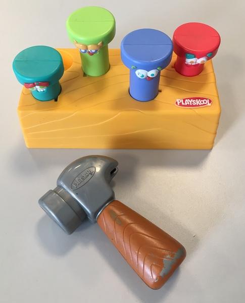 B6a: Playskool Pounding Pegs