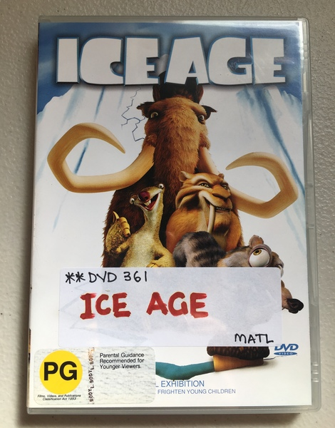 DVD361: Ice Age